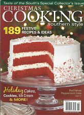 Christmas Cooking magazine Festive recipes Holiday cakes Cookies Ice cream tips