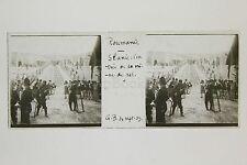 Roumanie Romania Mine de Sel à Slanic Plaque de verre stéréo 1909