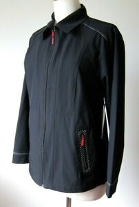 BLACK PEPPER  Long Sleeve Birdie Jacket, Black, Size 10 BNWT