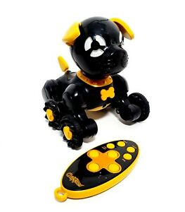 WowWeeChippies Robot Dog Interactive Remote Control Puppy Chippo Black Dance Toy