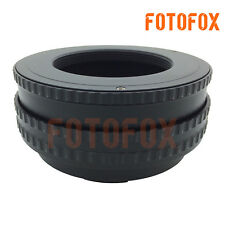 M42-NEX 17-31mm Macro Helicoid Adapter for M42 Lens to Sony E NEX 3 5 6 7 a5000