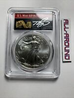 2012 $1 American Silver Eagle Dollar 1oz PCGS MS70 Thomas Cleveland Arrows