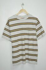 VINTAGE HANG TEN SURF STRIPE SURF SKATE MADE IN USA SHIRT