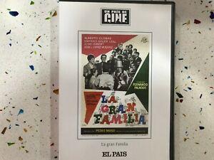 LA GRAN FAMILIA DVD ALBERTO CLOSAS AMPARO SOLER JOSE ISBERT PRECINTADO NUEVO