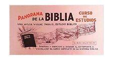 Panorama de la Biblia. Curso de Estudio (Spanish Edition)