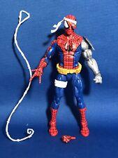 Marvel Legends 6? Cyborg Spiderman Retro Figure Loose Spider-Man Hasbro