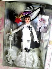 NIB BARBIE DOLL 1995 ELIZA DOOLITTLE IN MY FAIR LADY IN WHITE