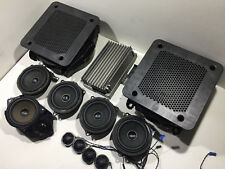 BMW X3 F25 HIFI SISTEMA AUDIO COMPLETO KIT AMPLIFICATORE SUBWOOFER SPEAKES impostato