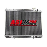 2 ROW Aluminum Radiator For 97-05 Nissan Navara D22 3.0L 3.0TD 3.3L V6 Petrol AT
