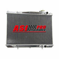 2 ROW Aluminum Radiator For 97-05 Nissan Navara D22 3.0L 3.0TD 3.3L V6 Petrol AT