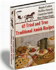 65 Amish Authenic Tried and True Recipes