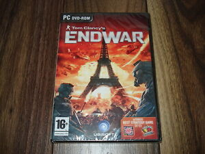 PC Tom Clancy's Clancys EndWar End War Brand New & Sealed More In Shop