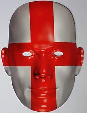 2014 World Cup England Supporters Face Mask - Great for Parties - 1st Class Post
