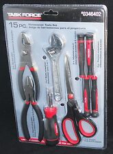 Homeowners 15Pc Tool Set by Task Force