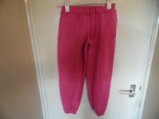 Girls Pink Jogging Bottoms with Elasticated  Waist & Ankles size 11-12 Years