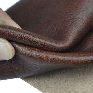 Real Leather Tooling Leather Square 1.5mm  Crafting Cowhide Piece for Sheets