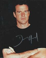 Dennis Quaid Pose Hand Signed 8x10 Photo Actor Authentic Autographed w/COA