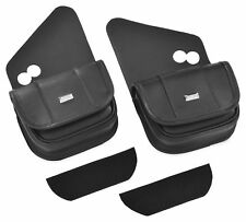 HOPNEL W/S DUAL POUCHES BLK FLH HD90-102BC LUGGAGE OTHER