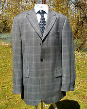 TOMMY HILFIGER BLAZER 42 TALL BLUE-GREY 3 BUTTON 1 VENT SPORT JACKET 42T CDN