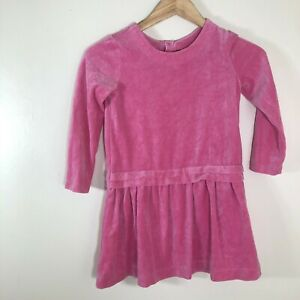 Hanna Andersson The Velour Party Dress Pink Size 120 Girls  6-7