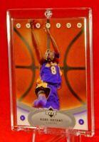 UD Ovation Kobe Bryant Lakers Jersey Super Rare Basketball Feel Card HOF Mamba🔥