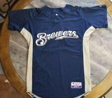 Milwaukee Brewers Game-Used Spring Training Jersey - MLB #95 sz 42 baseball