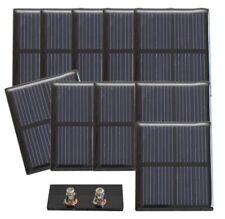 Lot de 10 cellules solaires 1,00 V - 200 mA