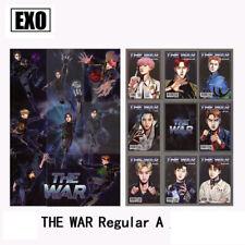 9pcs/Set Kpop EXO The War Regular A Version Cards KOKOBOP Self-made Photocard