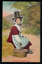 UK-466 Welsh Girl in Costume (1909)