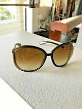 TOM FORD LADIES BROWN SUNGLASSES FT226 47F OVERSIZED CLEARANCE PRICE