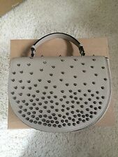 CHRISTIAN LOUBOUTIN Putty Studded Handbag Shoulder Bag **LIMITED EDITION**