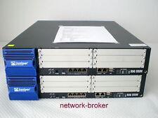 Lot of 2// 2 pezzi Juniper ssg-550m-sh Networking Security Appliance 1gb di RAM