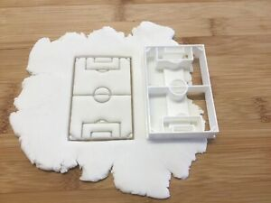 Football Pitch Cookie Cutter, Biscuit, Pastry,Fondant Cutter