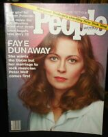 People Magazine~Faye Dunaway cover~March 28,1977~No Mailing Label