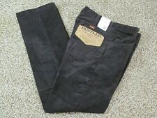 Nwts Vintage Men'S Wrangler Brown Straight Leg Corduroy Jeans Pants Usa 32Wx30L