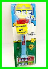 Mr Men And Little Miss PEZ CANDY Dispenser VERY RARE! HUNGARY ~ Limited Edition!