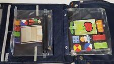 New Lewis & Clark Kids Organizer Childrens Travel Activity Map Bag Tote Toy