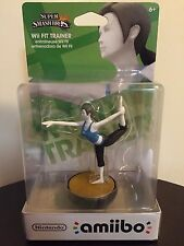 Wii Fit Trainer amiibo US NA Version Super Smash Bros. Great Condition Brand new