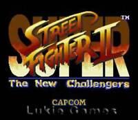 Super Street Fighter II - SNES Super Nintendo Game