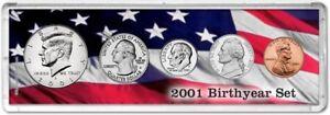 Birth Year Coin Gift Set, 2001
