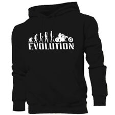 Cotton Biker Graphic Hoodies & Sweats for Men