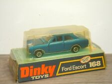 Ford Escort with Black Interior - Dinky Toys 168 England in Box *35507
