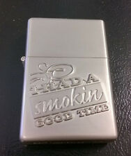 """Brushed Silver Lighter - """"I had a Smokin Good Time"""" - Camel 2007 Limited Ed."""