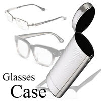 Sunglasses Case Box Protector Hard Metal Glasses CaseStorage Aluminum Silver NT6