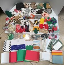 HUGE Lot of 1000+ SCRAPBOOKING, CARD MAKING, PAPER CRAFT,CUT OUTS and SUPPLIES