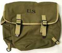 WWII US AIRBORNE PARATROOPER M1936 M36 MUSETTE JUMP BAG-TRANSITIONAL