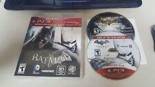 PS3-Batman: Arkham Asylum + Batman: Arkham City DUAL PACK - FREE SHIPPING