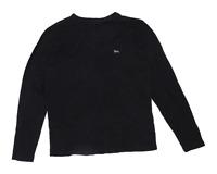 Lonsdale Mens Size M Cotton Blend Black Long Sleeve T-Shirt