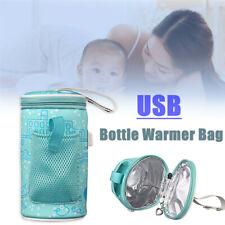 Portable USB Warmer Water Bottle Bag Heating Baby Milk Water Travel Heater Mommy