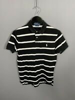RALPH LAUREN Polo Shirt - Small - Custom Fit - Striped - Great Condition - Men's